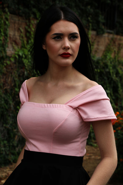 Alexandra Top in Pink