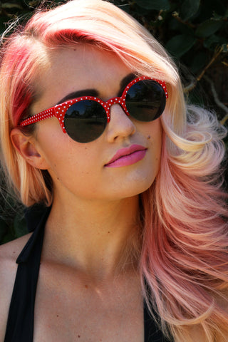 Juliet Sunnies in Red