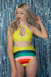 Rainbow Brite Bottoms in Yellow