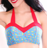 FINAL SALE Lollipop Bikini Top