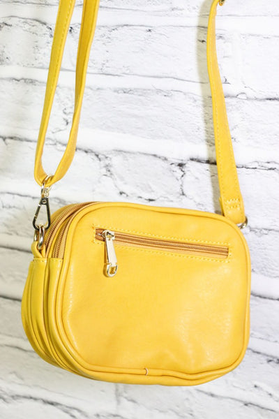 Mellow Yellow Shoulder Purse