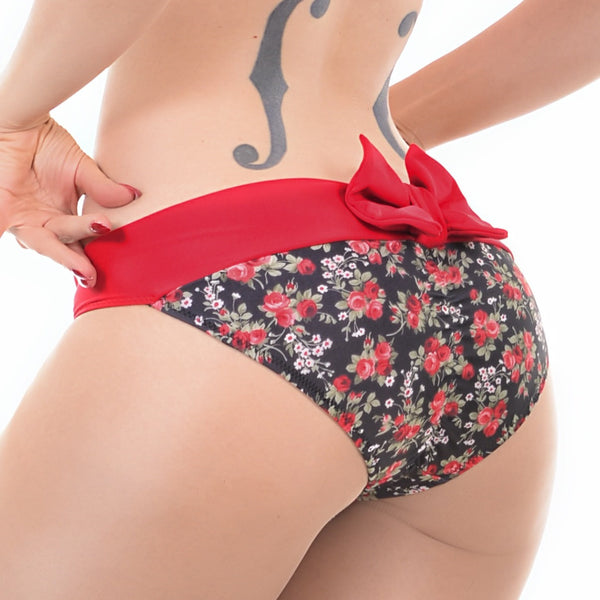 FINAL SALE Garden Party Bikini Bottom
