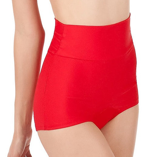 RUBY High Waist Retro Bikini Bottom