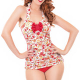 Tea Time One Piece Swimsuit