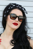 Punky Sunglasses in Black