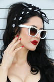 Punky Sunglasses in White