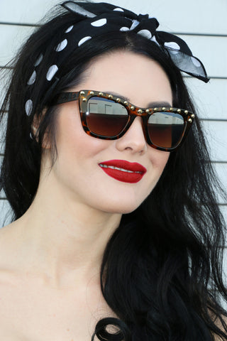 Punky Sunglasses in Tortoise Shell