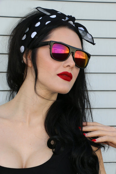 Roxanne Sunnies with Pink Lens