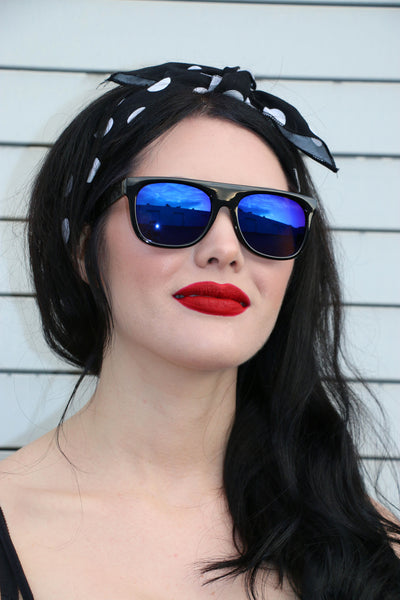 Roxanne Sunnies with Blue Lens