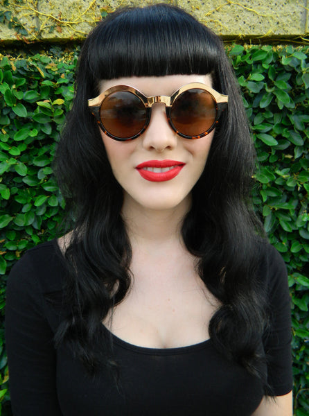 Gene Sunnies in Tortoise Shell