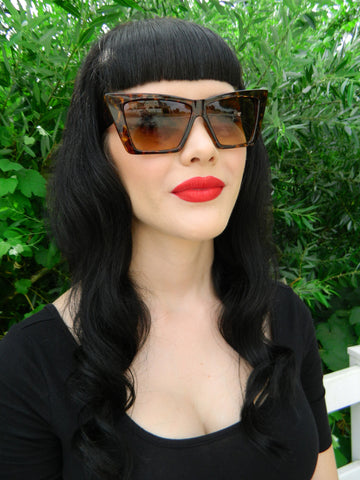 Nancy Sunglasses in Tortoise Shell