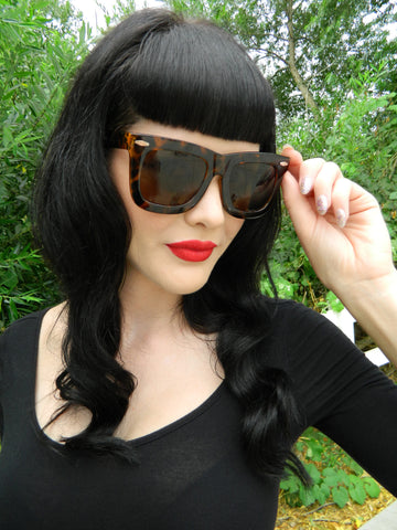 CryBaby Sunnies in Tortoise Shell
