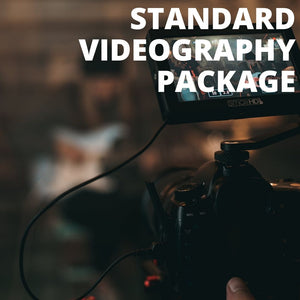 STANDARD VIDEOGRAPHY PACKAGE - Booth It