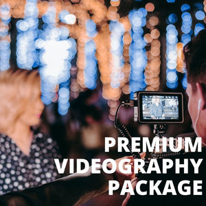 PREMIUM VIDEOGRAPHY PACKAGE - Booth It