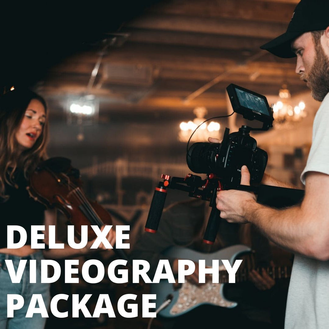 DELUXE VIDEOGRAPHY PACKAGE - Booth It