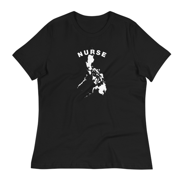 Filipina Nurse Women's Relaxed T-Shirt