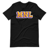 MNL Purple and Yellow Team Color Men/Unisex T-Shirt