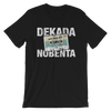 Dekada Nobenta | OPM Rock Mixtape white print Men/Unisex T-Shirt