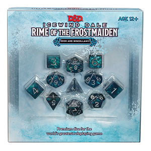 Icewind Dale: Rime of the Frost Maiden Dice Set