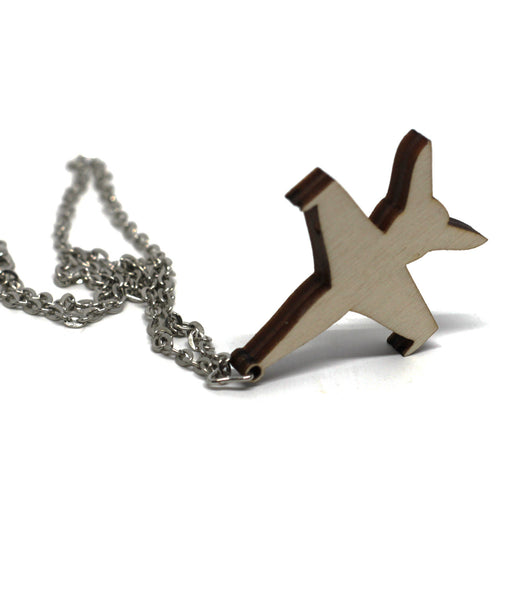 The Figher Jet Necklace