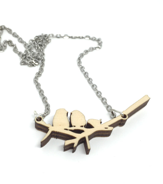 The Family of Birds Necklace