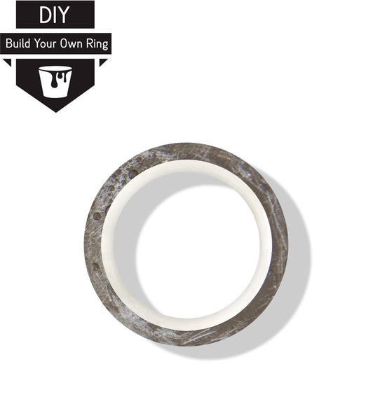 DIY Minimal Three Concrete Ring Kit