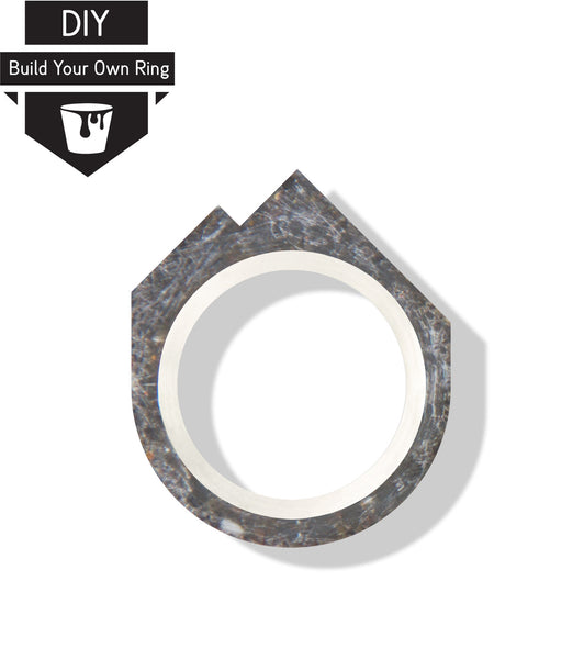 DIY Mountain Concrete Ring Kit