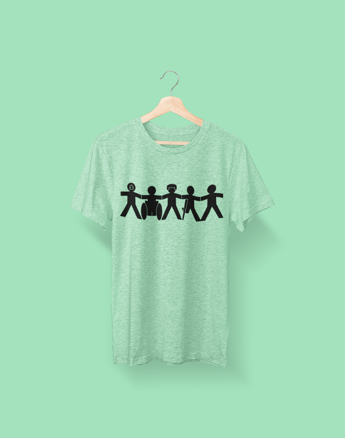 Different, Not Less - Color Tee
