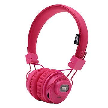 NIA X5SP 2 in 1 Speaker + Headphone (Pink)