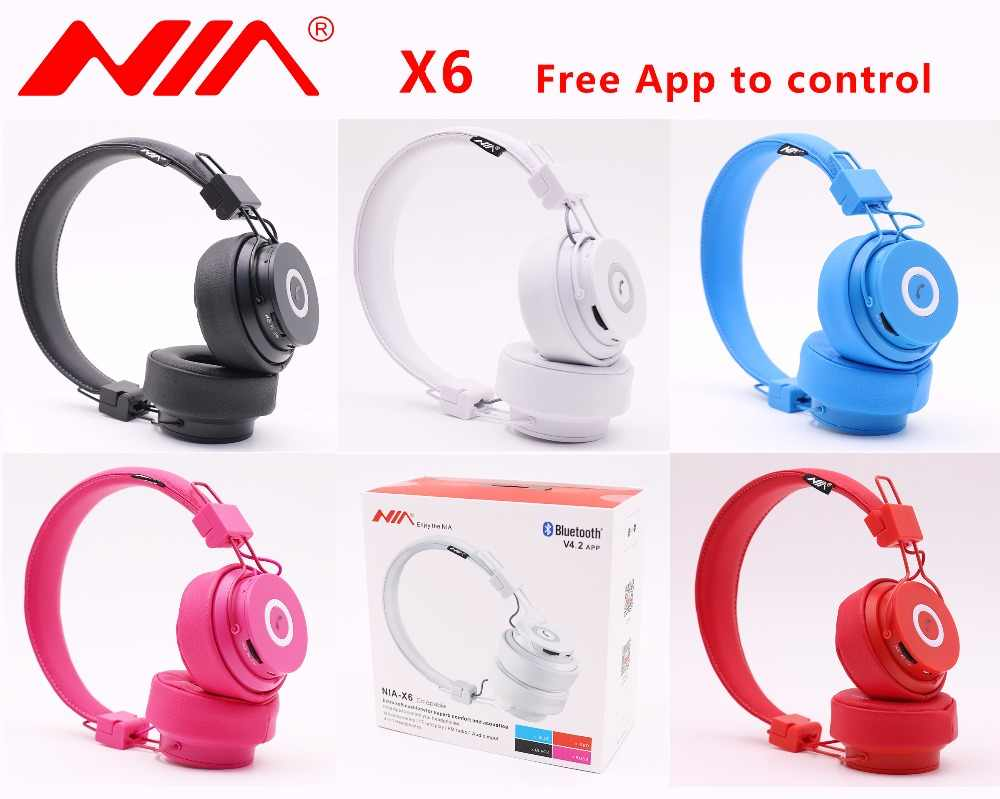 NIA X6 Wireless Headphones