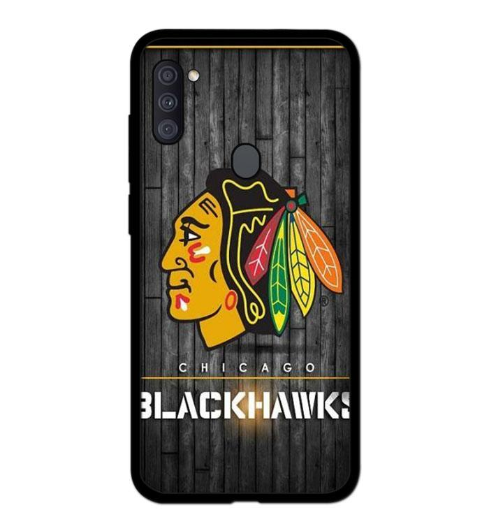 coque custodia cover fundas hoesjes j3 J5 J6 s20 s10 s9 s8 s7 s6 s5 plus edge B15291 Chicago Blackwaks FF0369 Samsung Galaxy A11 Case