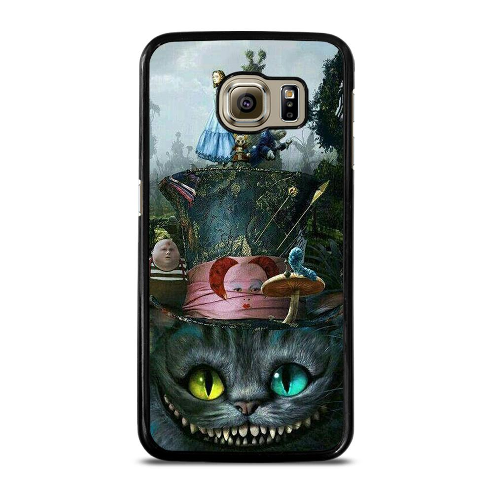 ALICE IN WONDERLAND CAT Cover Samsung Galaxy S6