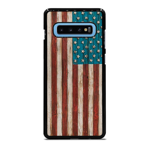 AMERICAN FLAG USA WOOD 2 Cover Samsung Galaxy S10 Plus