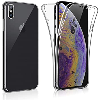 AROYI Cover iPhone XS Max iPhone XS Max Custodia Transparent