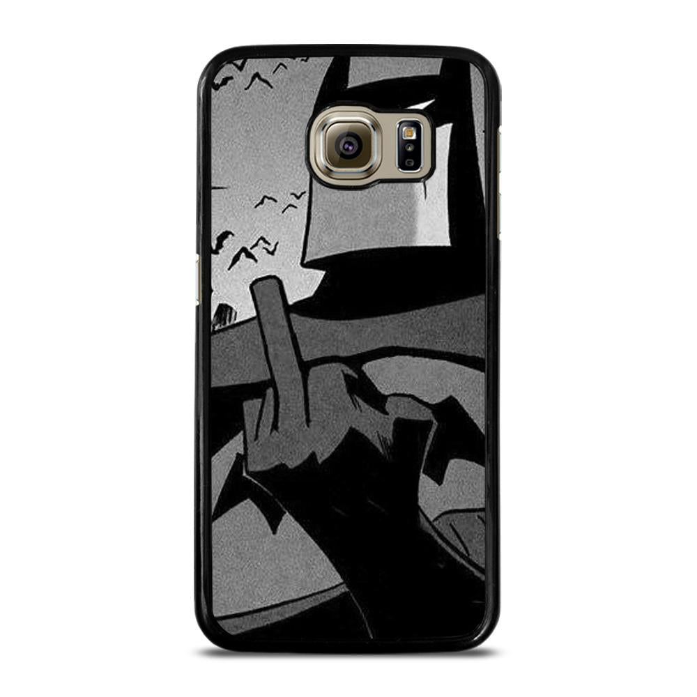 BATMAN MIDDLE FINGER Cover Samsung Galaxy S6