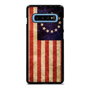 coque custodia cover fundas hoesjes j3 J5 J6 s20 s10 s9 s8 s7 s6 s5 plus edge D12538 BETSY ROSS FLAG USA Samsung Galaxy S10 Plus Case