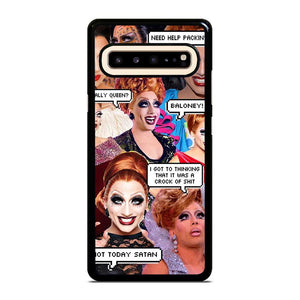 coque custodia cover fundas hoesjes j3 J5 J6 s20 s10 s9 s8 s7 s6 s5 plus edge D12678 BIANCA DEL RIO COLLAGE Samsung Galaxy S10 5G Case