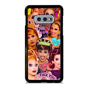 coque custodia cover fundas hoesjes j3 J5 J6 s20 s10 s9 s8 s7 s6 s5 plus edge D12665 BIANCA DEL RIO COLLAGE 1 Samsung Galaxy S10 e Case