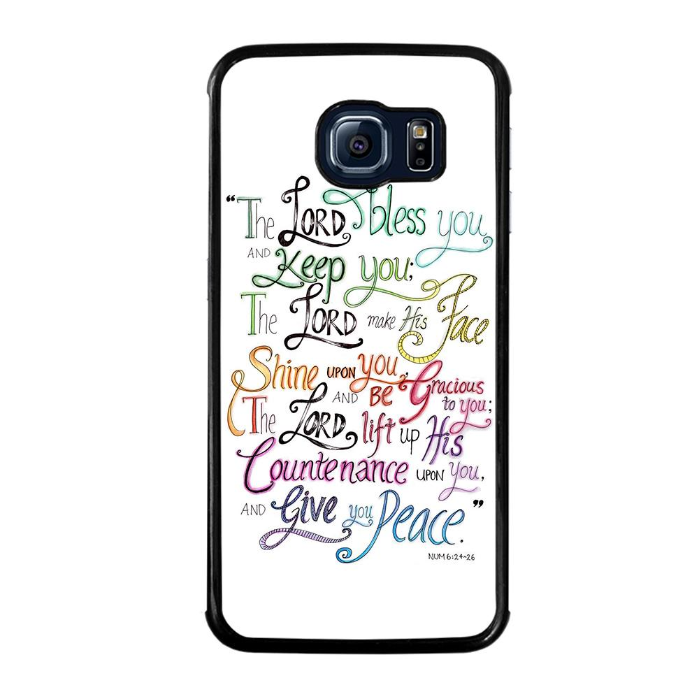 BIBLE VERSE PASTOR CHUCK SMITH Cover Samsung Galaxy S6 Edge
