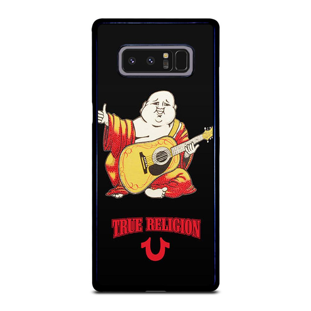 coque custodia cover fundas hoesjes j3 J5 J6 s20 s10 s9 s8 s7 s6 s5 plus edge D12747 BIG BUDDHA REDS TRUE RELIGION Samsung Galaxy Note 8 Case