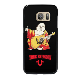 coque custodia cover fundas hoesjes j3 J5 J6 s20 s10 s9 s8 s7 s6 s5 plus edge D12757 BIG BUDDHA REDS TRUE RELIGION Samsung Galaxy S7 Case