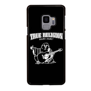 coque custodia cover fundas hoesjes j3 J5 J6 s20 s10 s9 s8 s7 s6 s5 plus edge D12781 BIG BUDDHA TRUE RELIGION BLACK Samsung Galaxy S9 Case