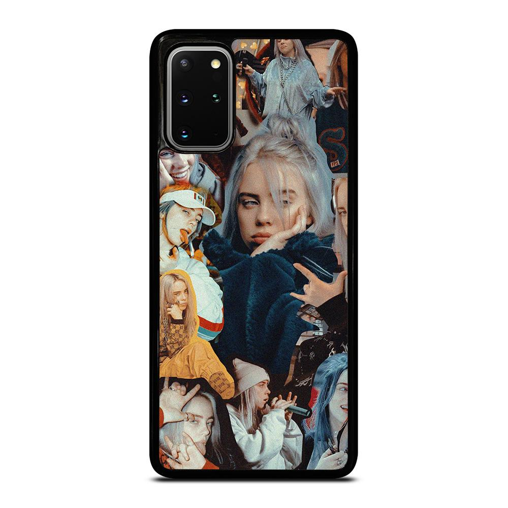 coque custodia cover fundas hoesjes j3 J5 J6 s20 s10 s9 s8 s7 s6 s5 plus edge D12869 BILLIE EILISH COLLAGE 1 Samsung Galaxy S20 Plus Case