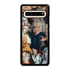 coque custodia cover fundas hoesjes j3 J5 J6 s20 s10 s9 s8 s7 s6 s5 plus edge D12865 BILLIE EILISH COLLAGE 1 Samsung Galaxy S10 5G Case