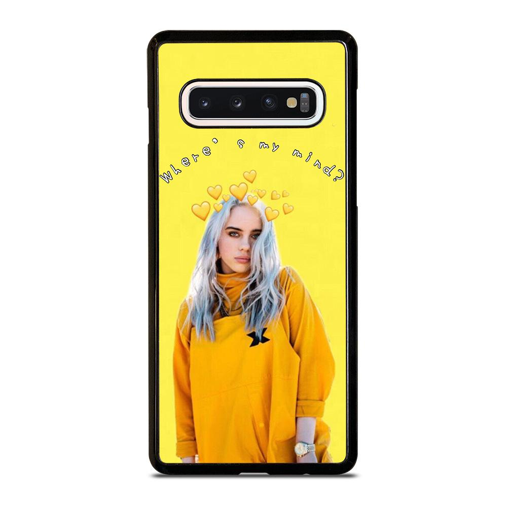 coque custodia cover fundas hoesjes j3 J5 J6 s20 s10 s9 s8 s7 s6 s5 plus edge D12962 BILLIE EILISH SINGER 1 Samsung Galaxy S10 Case