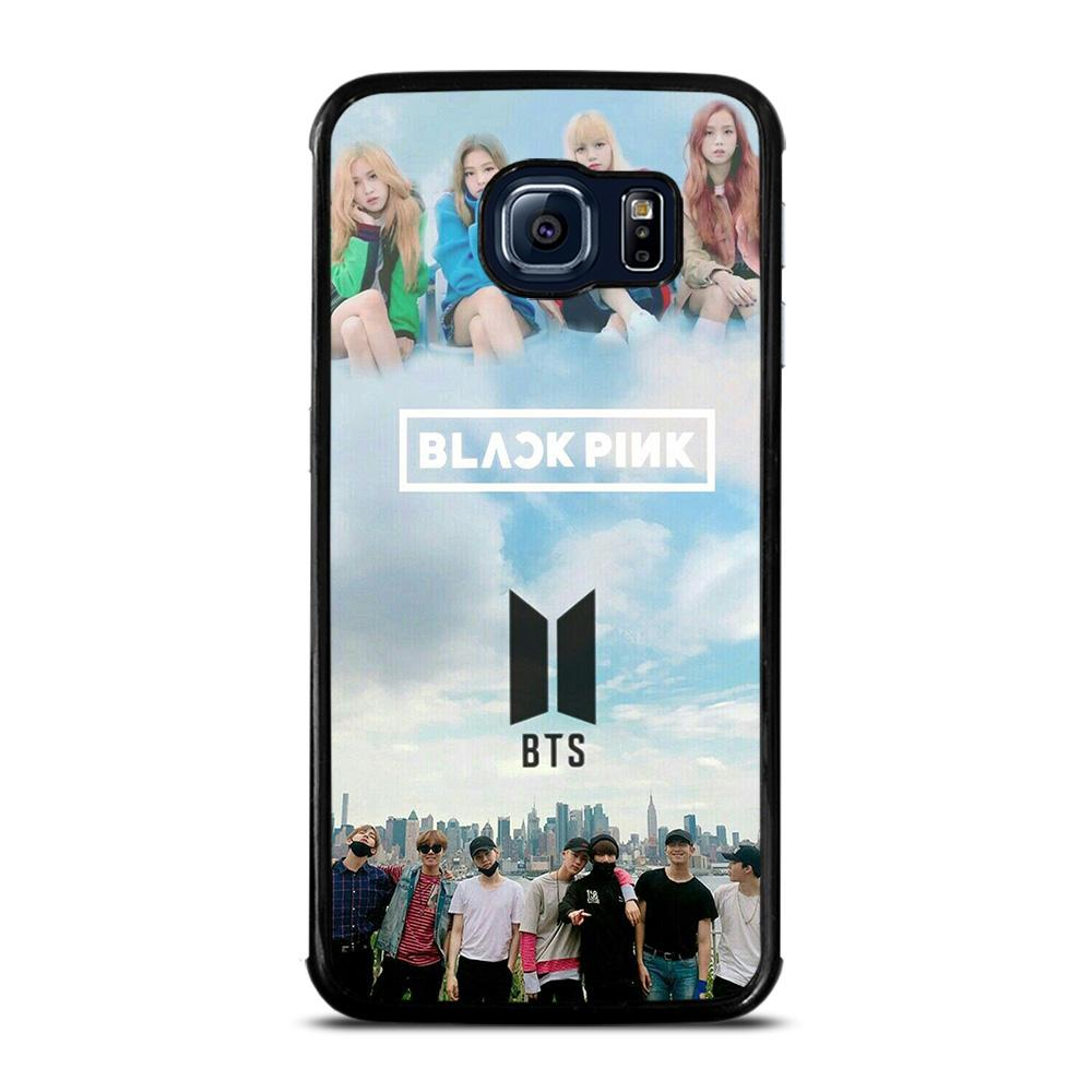 BLACKPINK VS BTS KPOP GROUP Cover Samsung Galaxy S6 Edge