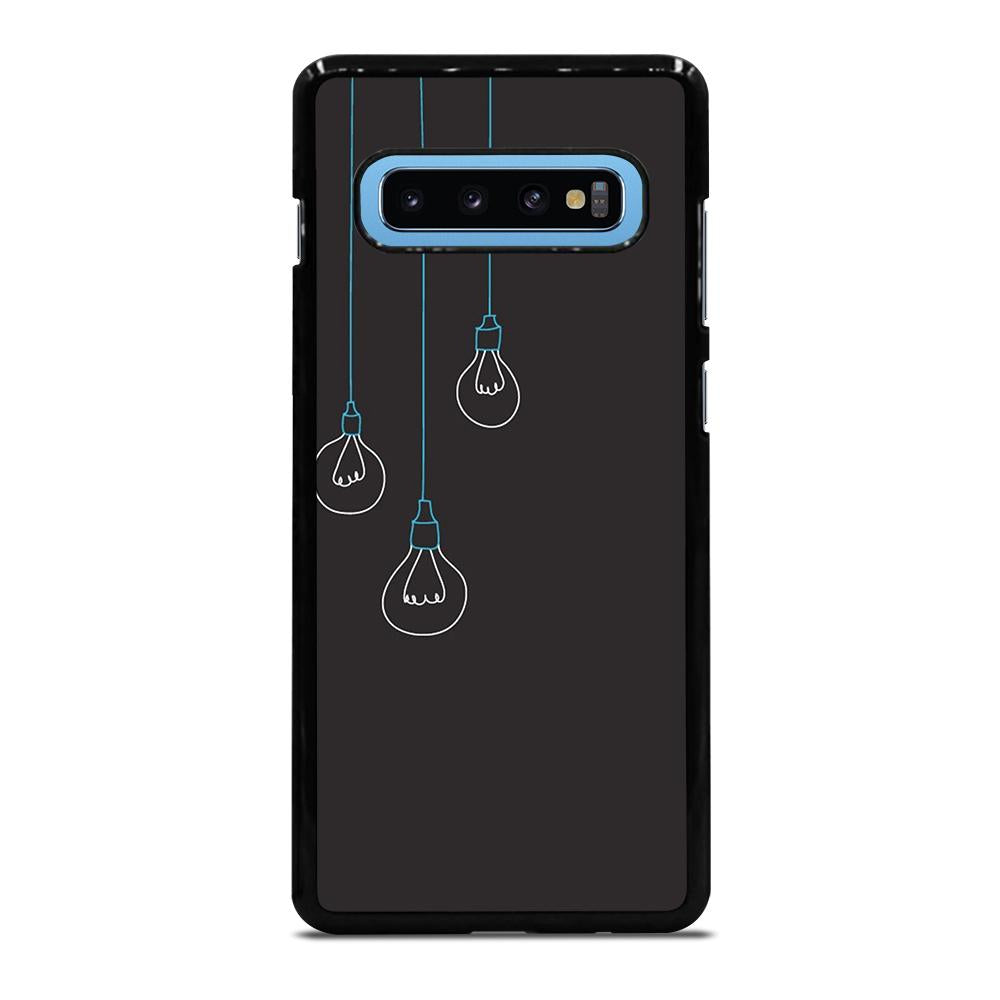 BLACK LIGHT BULBS MINIMALISTIC Cover Samsung Galaxy S10 Plus - bravocover