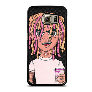 coque custodia cover fundas hoesjes j3 J5 J6 s20 s10 s9 s8 s7 s6 s5 plus edge D13030 BLACK ESKETIT LIL PUMP Samsung Galaxy S6 Case