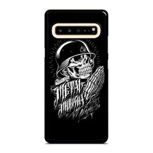 coque custodia cover fundas hoesjes j3 J5 J6 s20 s10 s9 s8 s7 s6 s5 plus edge D13092 BLACK METAL MULISHA BRIAN DEEGAN Samsung Galaxy S10 5G Case