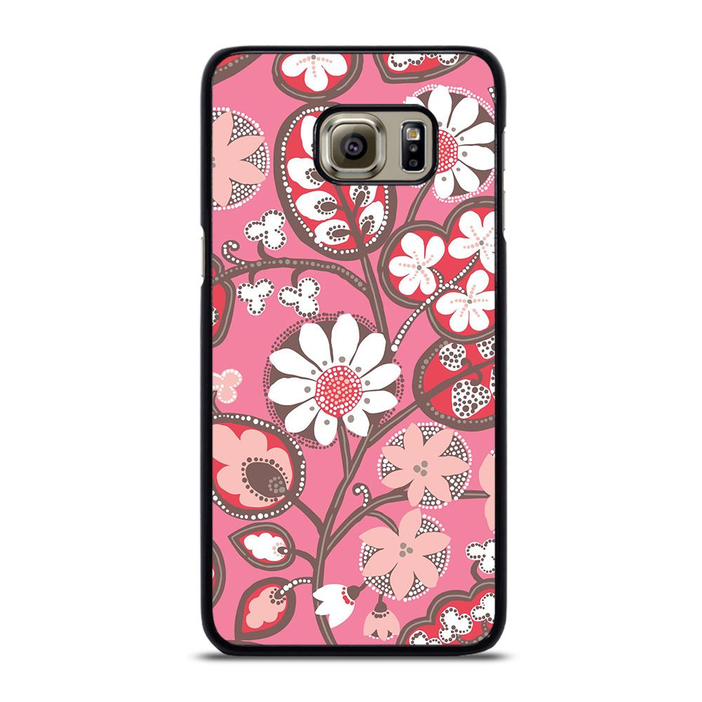 BLUSH PINK VERA BRADLEY PRINT Cover Samsung Galaxy S6 Edge Plus